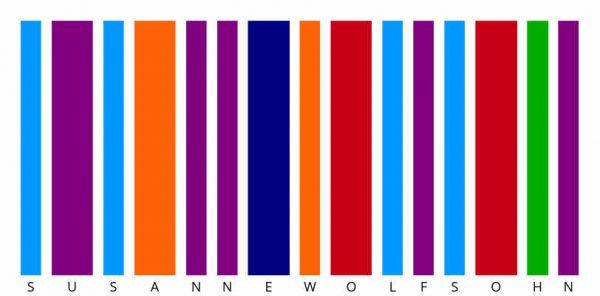 Susanne Wolfsohn Farbstrichcode