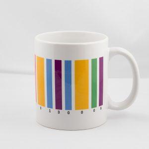 Kaffeetasse Farbstrichcode