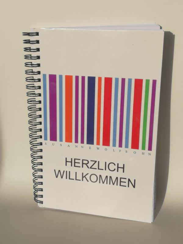 Notizbuch Farbstrichcode Susanne Wolfsohn