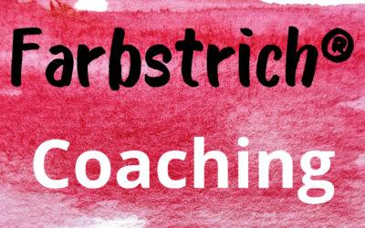 NEU: Farbstrich®-Coaching